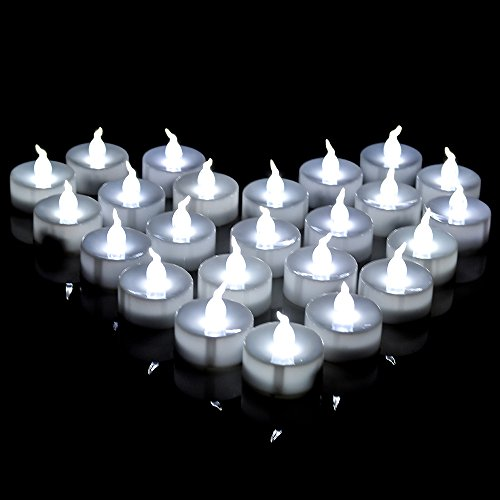 AGPtek 60 PCS Battery Operated No filcker Flameless Candles