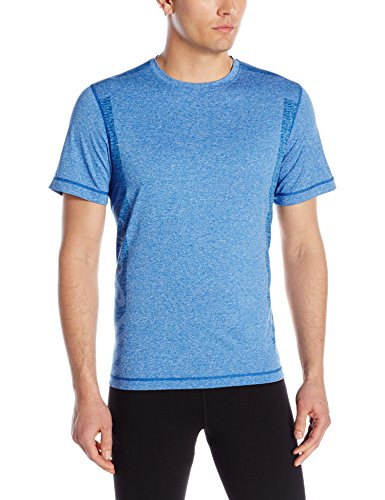 Asics Men\'s Hot Shot Training Shirt, New Blue Heather