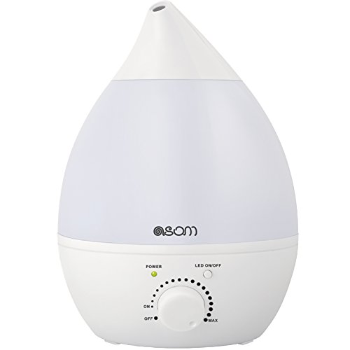 Ultrasonic Cool Mist Humidifier, Aroma Oil Diffuser, Anti Mold