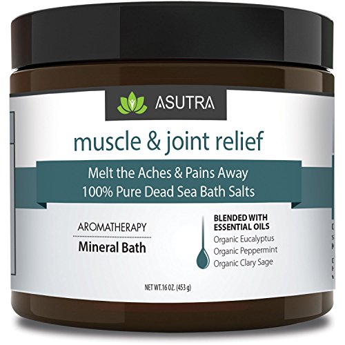 """""""MUSCLE  JOINT RELIEF"""" – 100% Pure Dead Sea"""