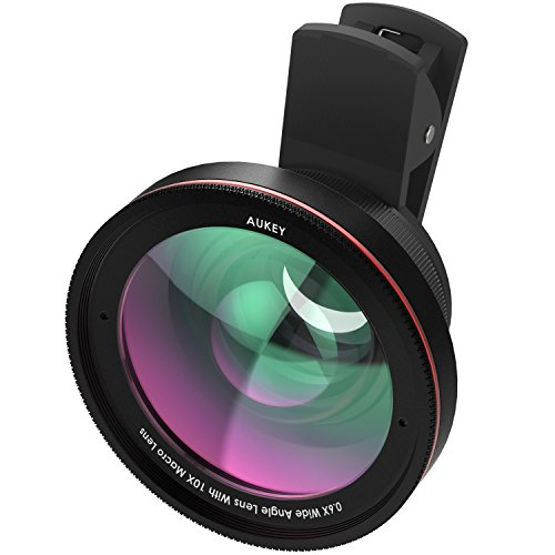 AUKEY Ora iPhone Lens, 0.67x 100° Wide Angle +