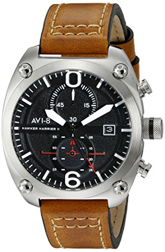 $147.00 AVI-8 Men's AV-4037-01 Hawker Harrier II Analog Display Japanese