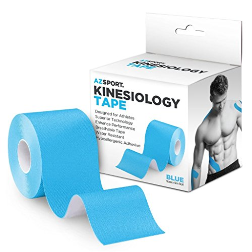 AZSPORT Kinesiology Tape, For Sport and Therapy, Uncut 2