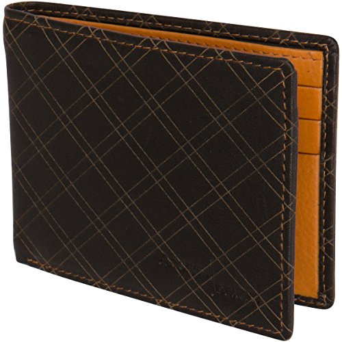 Access Denied Mens RFID Blocking Wallet Slim Thin Leather