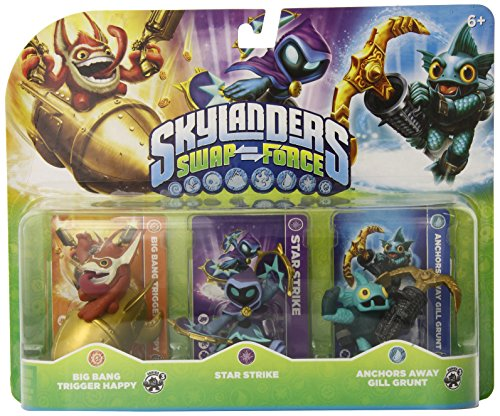$5.49 Skylanders SWAP Force Triple Character Pack: Big Bang Trigger