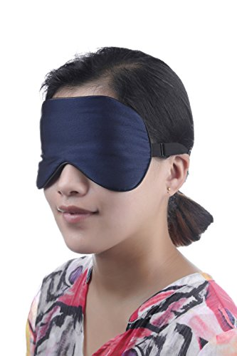 Adbama® 100% Top Quality Natural Silk Sleep Mask