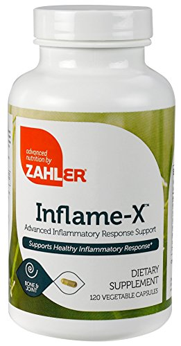 Zahler Inflame-X, Advanced Inflammation Reducer, Contains Turmeric Boswellia and