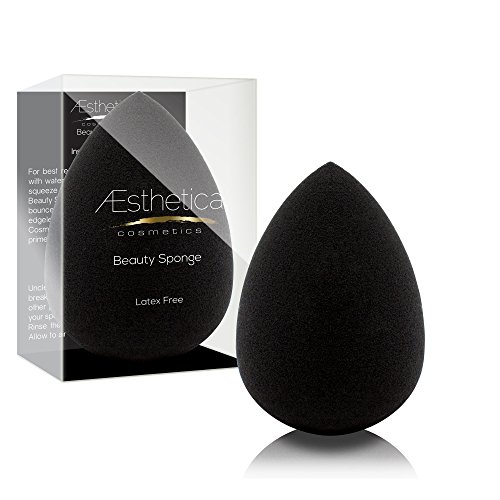 Aesthetica Cosmetics Beauty Sponge Blender – Latex Free and