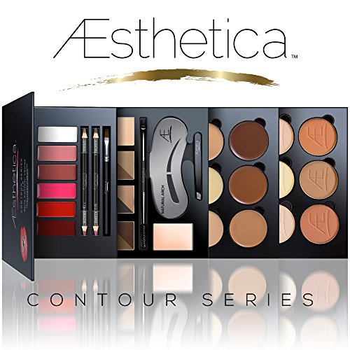 Aesthetica Cosmetics Contour Series - Contouring and Highlighting Library