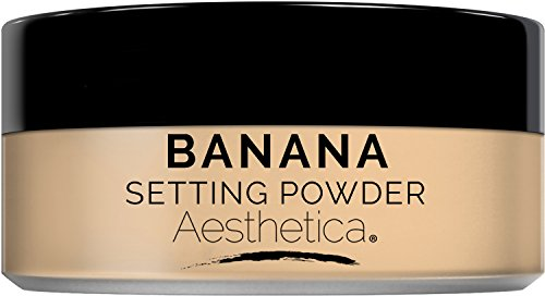 Aesthetica Banana Loose Setting Powder - Talc Free Setting