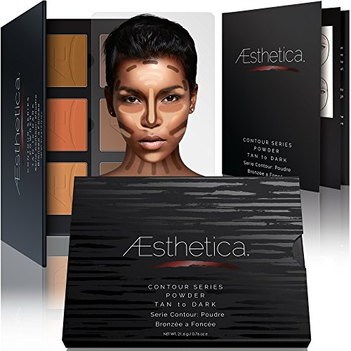 Aesthetica Contour Series - Tan to Dark Powder Contour