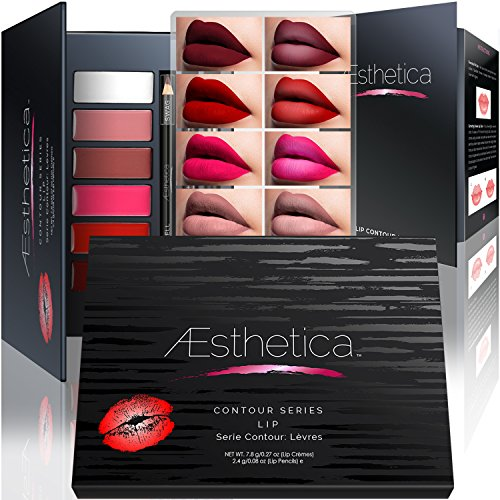 Aesthetica Matte Lip Contour Kit - Contouring and Highlighting