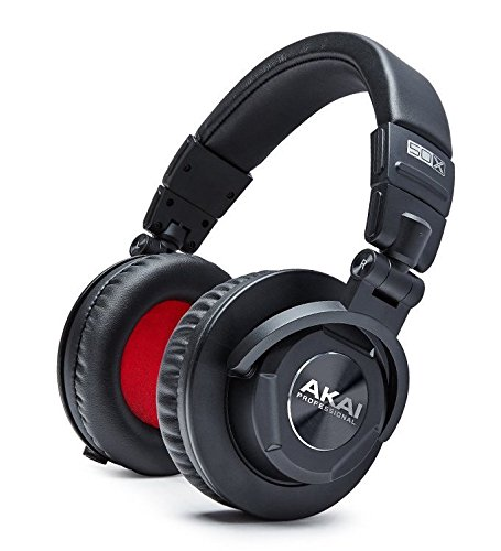 Akai Professional Project 50X - Over-Ear Studio Monitor Headphones