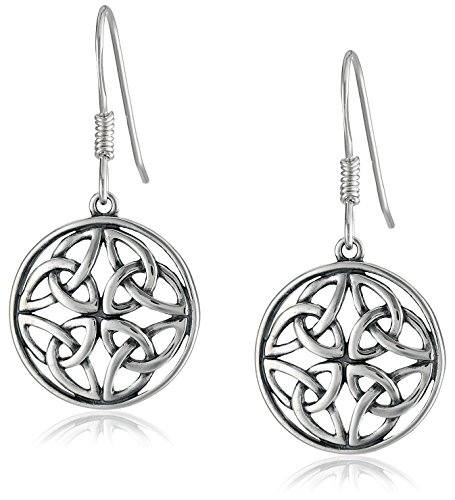 $15.99 Celtic-Knot Round Drop Earrings