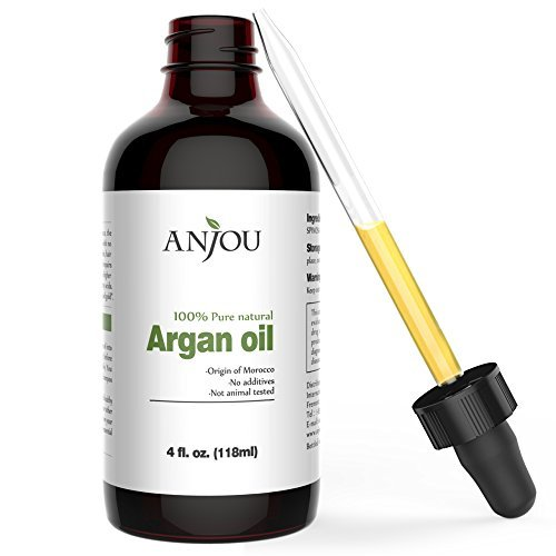 Moroccan Argan Oil for Hair, Face, Skin, Body