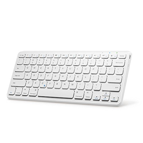Anker Ultra Compact Slim Profile Wireless Bluetooth Keyboard for