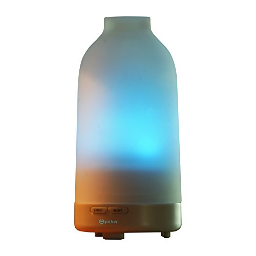 Apalus Glass Essential Oil Diffuser, Aromatherapy Diffuser, Ultrasonic Humidifier