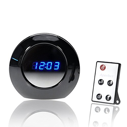 Aperfect Mini 1280x960 HD Hidden Wireless Camera Alarm Clock