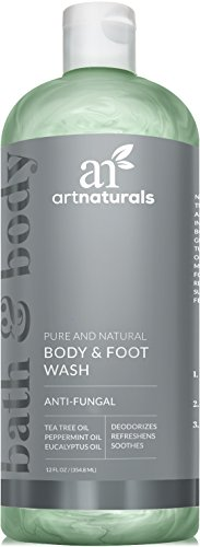 ArtNaturals Essential Bath and Body Wash Tea Tree, Peppermint