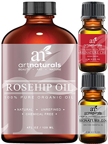 Art Naturals Rosehip Seed Oil 3 Piece Set -
