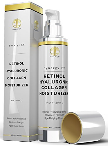 NeuCeutica Retinol Hyaluronic Acid Moisturizer Cream: Collagen, Vitamin C