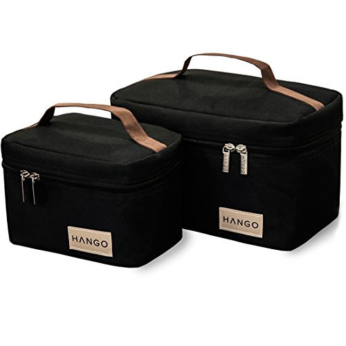 Hango Insulated Lunch Box Cooler Bag (Set of 2