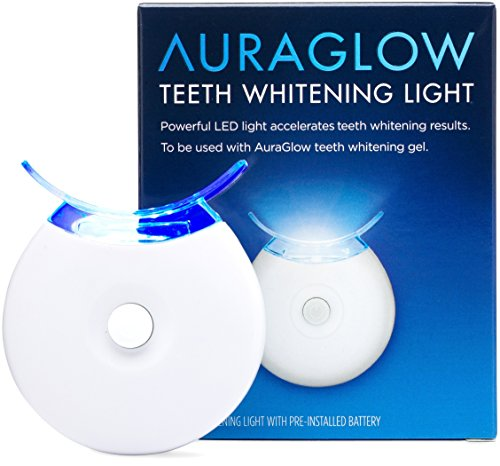 AuraGlow 5x Blue LED Light Teeth Whitening Accelerator Light