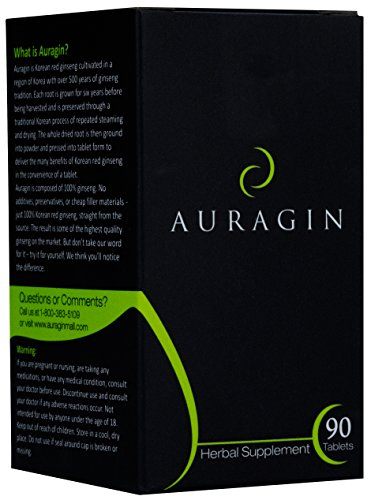 Auragin: Authentic Korean Red Ginseng - Made in Korea