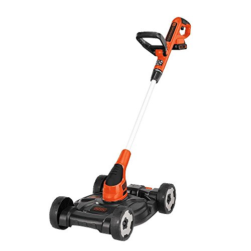 $95.99 BLACK+DECKER MTC220 12-Inch Lithium Cordless 3-in-1 Trimmer/Edger and Mower