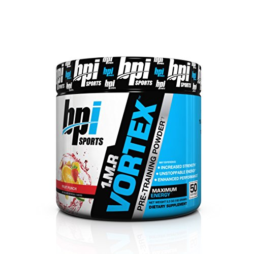 $21.96 BPI Sports 1.M.R. Vortex Pre-Workout Powder, Fruit Punch, 5.3-Ounce