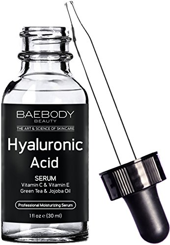 Baebody Hyaluronic Acid Serum for Face, Professional Anti-Aging Topical