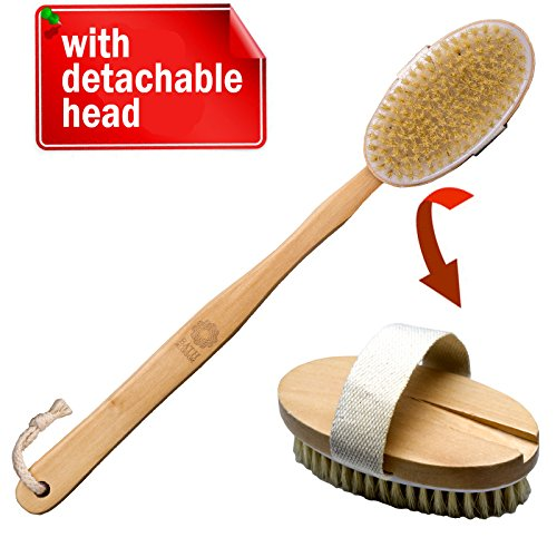 Bath Blossom Shower Brush Long Handled for Shower with