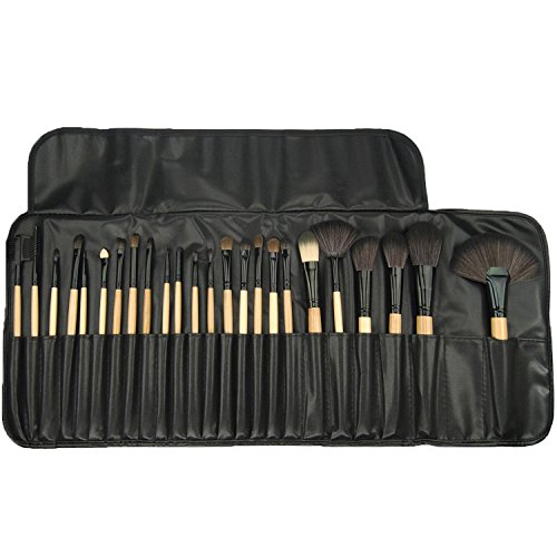 Proffessional Makeup Brushes, Set of 24, Great for Highlighting