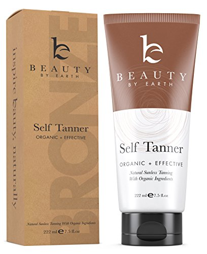 Self Tanner - Organic  Natural Sunless Tanning Lotion