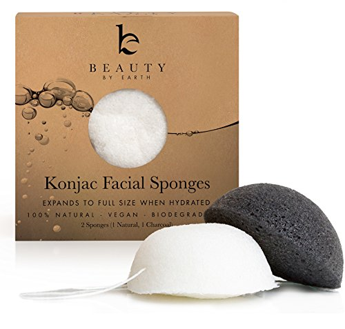 Konjac Sponges - Beauty by Earth Konjac Facial Sponge