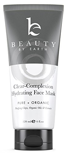 Facial Mask - Hydrating Face Clay Treatment - with