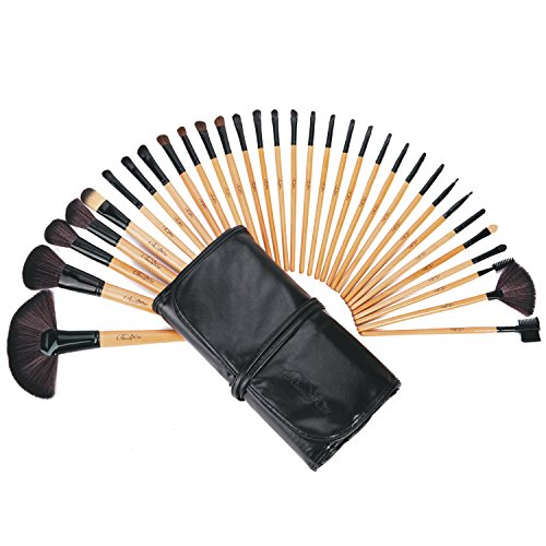 BeautyWill 32 Pieces Makeup Brushes Set Professional Kit for