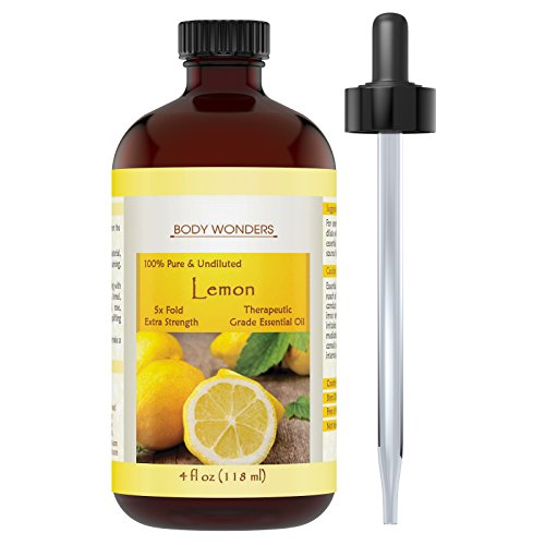 Body Wonders Lemon Essential Oil 4 Oz