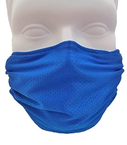 Honeycomb Blue Face Mask - Protect Your Immune System