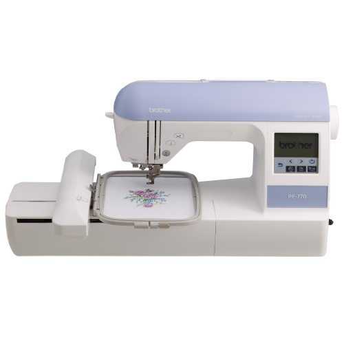 Brother PE770 5x7 inch Embroidery machine with built-in memory