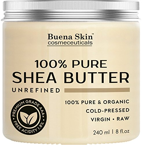 PURE Shea Butter - 100% Natural, Organic Cold-Pressed Raw