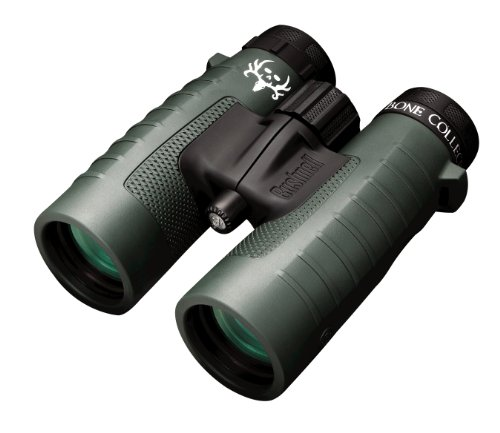 Bushnell Trophy XLT Roof Prism Binoculars, 10x42mm (Bone Collector