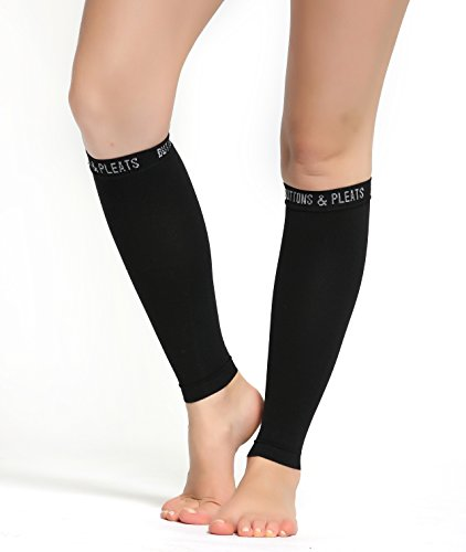 Calf Compression Sleeve for Women  Men - Footless
