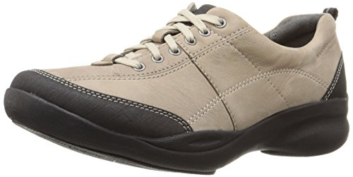 Clarks Women's Inmotion Drive Flat, Taupe Nubuck, 8 M