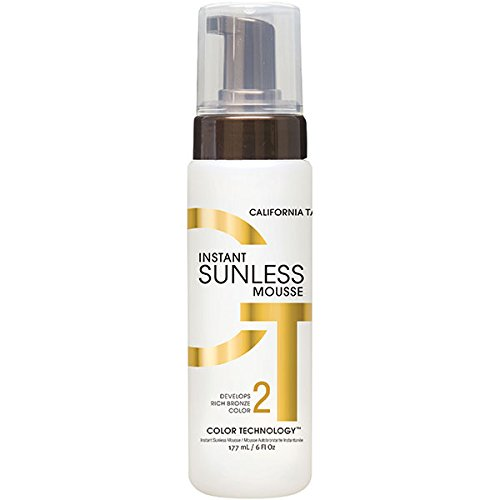 California Tan Instant Sunless Mousse, 6 Ounce