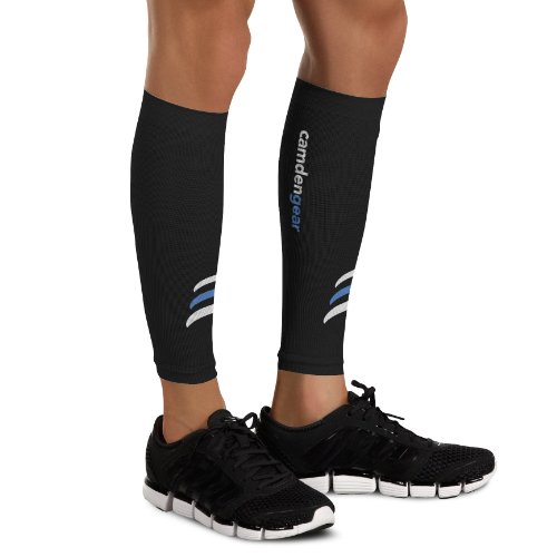 Calf Compression Sleeve by Camden Gear - Helps Shin