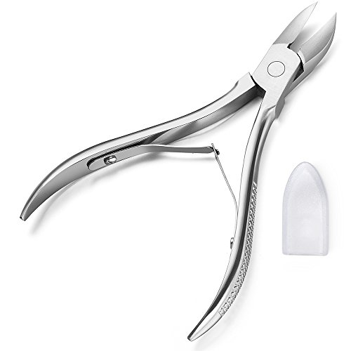 Chooling Toenail Nail Nipper with Double Springs, Stainless Steel