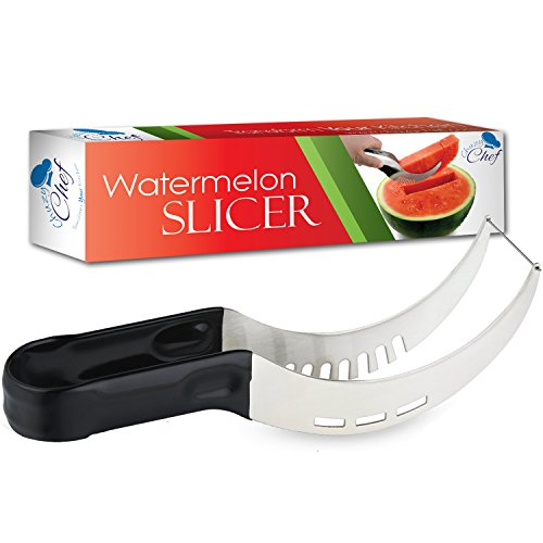 Watermelon Slicer Corer  Server, Cutter Tongs for Melons