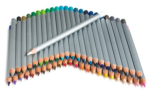 CreyArt Color Pencil Set With 72 Drawing, Shading