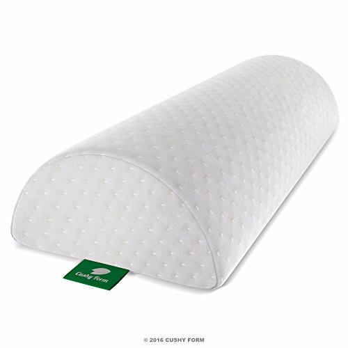Back Pain Relief Half-Moon Bolster / Wedge - Provides
